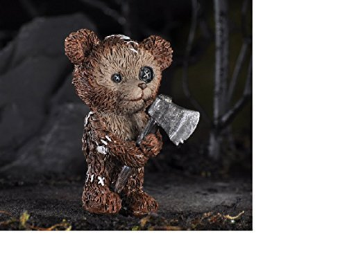 Fiddlehead Products Teddy Bear W/Axe Fairy Garden ()