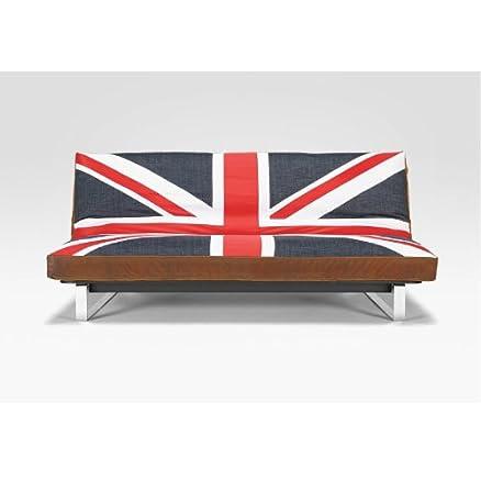 Innovazione divano letto iJack Bandiera Inglese: Amazon.it ...