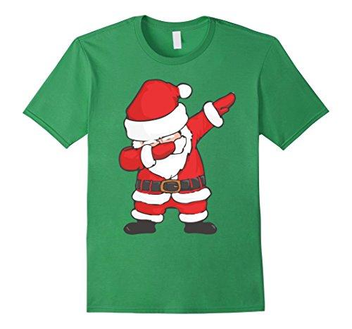 Mens Dabbing Santa Claus Funny Christmas Dab T-Shirt 3XL - Santa Hut