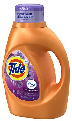 Tide Laundry Detergent Spring & Renewal 46 Oz by Procter & Gamble