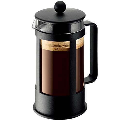 HYJBGGH Cafeteras de émbolo French Press Coffee Maker, Cafetera De Prensa Francesa, Base De Polipropileno Antideslizante…