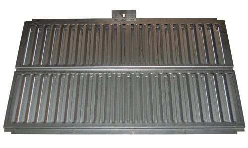 Music City Metals 99621 Stainless Steel Heat Plate Replacement for Select Ducane Gas Grill Models by Music City Metals