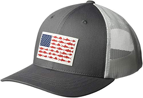 Columbia Kids & Baby Snap Back Hat, Titanium/Fish Flag One Size ()
