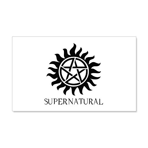 CafePress Supernatural 22X14 Wall Peel - 20x12 Wall Decal, Vinyl Wall Peel, Reusable Wall Cling by CafePress