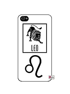 Leo Sign Zodiac Horoscope Symbol iphone 5c Quality Hard Snap On Case for iphone 5c G T Sprint Verizon - Black Frame