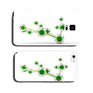 Connected green spheres left side view cell phone cover case iPhone6