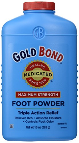 Gold Bond Medicated Foot Powder - 10 - Gold Powder Ingredients Bond