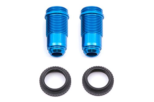 Team Associated 21214 18T Factory Team Threaded Front Shock Body and Collars, Set of 2