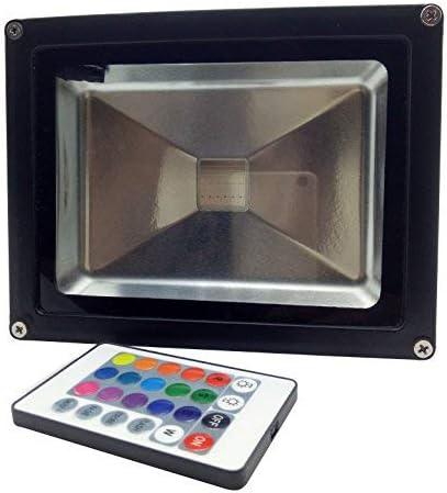 YXH® 20W Proyector RGB LED, Foco Cambio de color Ac 85-240V,LED ...
