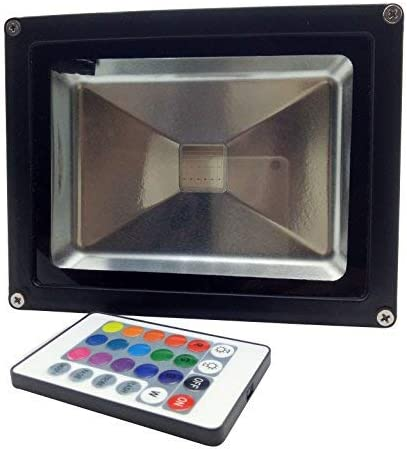 LED Flood Lights, 100W 8000LM Super Bright Security Lights, Cold White 6000K Daylight Outdoor and Indoor IP65 Waterproof Floodlight Landscape Wall Lights for Garage, Garden, Lawn, Yard by Coolkun