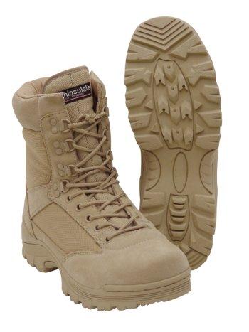 Amazon.com  Desert Tan Tactical Boot with YKK Zipper 8b72ef575f7