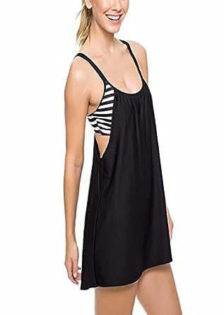 Amazon.com: True Meaning Charming Women Striped Tankini