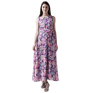 MsFQ Women's A-Line Maxi Dress