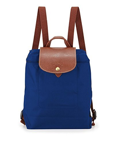 Price comparison product image Longchamp Le Pilage Backpack in Blue