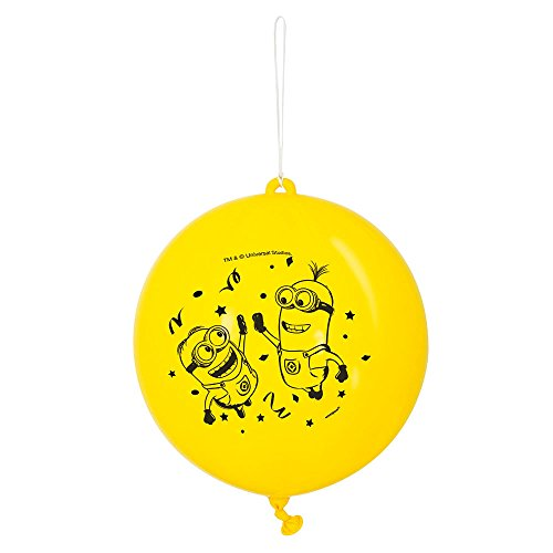Latex Despicable Minions Punch Balloons