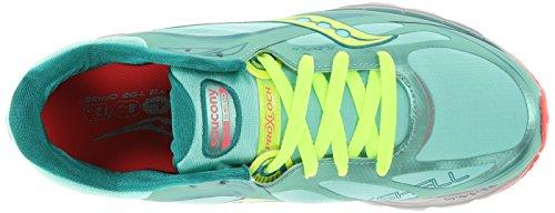 Runshield Citron 5 10 Green Pink Shoe Kinvara Women's Green M Citron US Saucony Pink Running 0qwEtYz