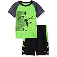 New Balance Boys' Athletic Tee and Short Set