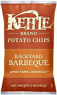 product image for Kettle Brand Potato Chips, Backyard Barbeque Bags, 5 Ounce (Pack of 8)