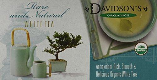 Davidson's Tea Single Serve White Peach, 100-Count Tea Bags
