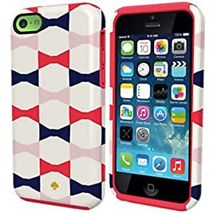 Kate Spade New York Dual Layer Cell Phone Case for iPhone 5C Bow Ties