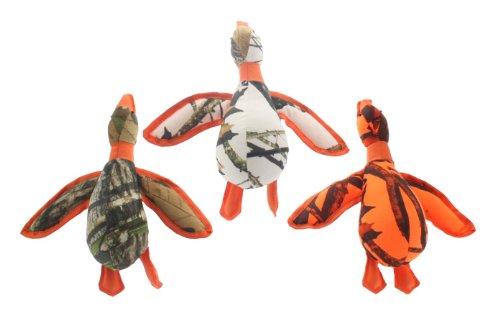 Multipet Mossy Oak Duck Plush Dog Toy, 13-Inch, My Pet Supplies