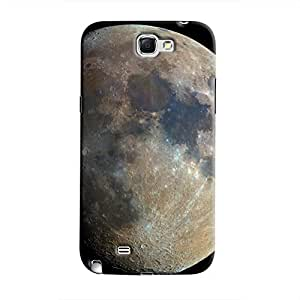 Cover It Up - Moon Galaxy Note 2 N7100 Hard Case