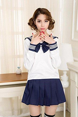 Japan National Costume Female (Generic Japan_South_ Korea _sailor_ suit costume _cartoon_Japanese_academic_department_ uniform s_school_ uniform s_ Women girl)