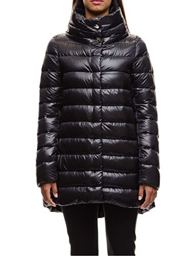 Herno Women's PI505DIC120179300 Black Polyester Down Jacket