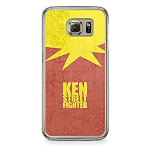 Loud Universe Ken Minimal Red Samsung S6 Case Ken Street Fighter Samsung S6 Cover with Transparent Edges