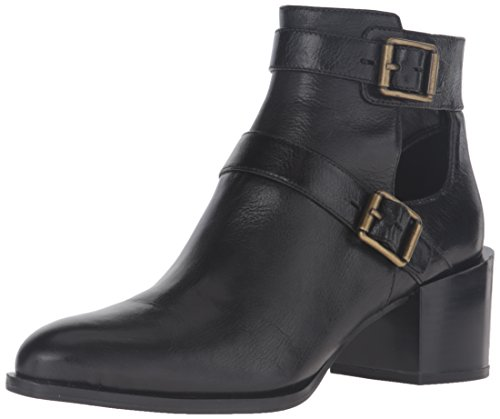 Free Nine West Women's Evalee Leather Ankle Bootie