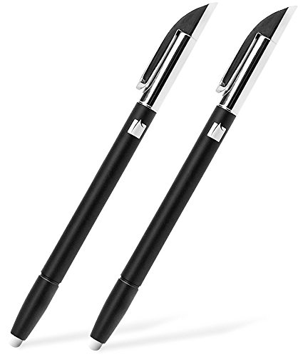 Stylus Pens (2 Pack), GreatShield EX 2-in-1 Ballpoint Pen with Sensitive Stylus for Amazon Kindle Fire HD 10 / HD 8, Fire 7 / 8 8