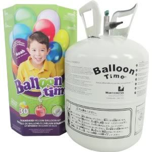 Toy / Game Standard Helium Balloon Kit - Great Use for Inflating Assorted and Beautifully Designed (Standard Helium Balloon Kit)