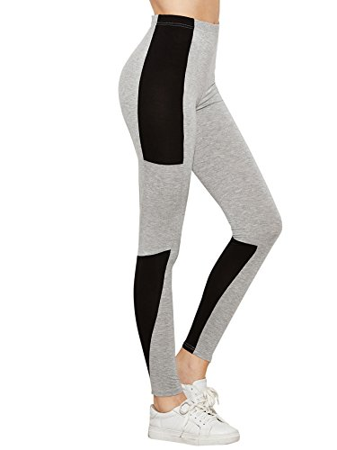 SweatyRocks-Womens-Activewear-Yoga-Pants-High-Waist-Workout-Leggings