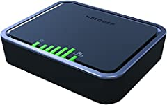 The NETGEAR LTE Modem 2120 is a simple, fail-safe connectivity solution with 4G LTE/3G for your devices or services, avoiding disruptions in broadband when your fixed wire line goes down. Simply connect your existing wire line broadband conne...