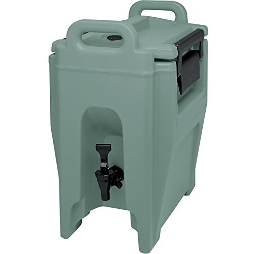 TableTop King UC250401 Slate Blue Ultra Camtainer 2.75 Gallon Insulated Beverage Dispenser