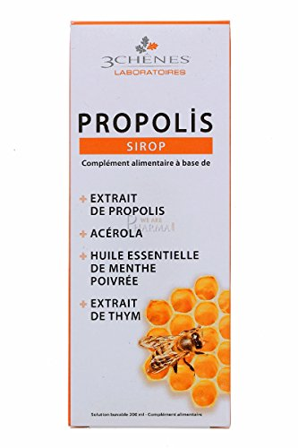 (3 Chênes Propolis Syrup Respiratory Tract Well Being & Protection by Les 3 Chênes)