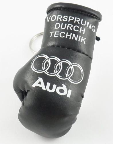 Amazon.com: Audi Mini llavero Guante de boxeo negro: Sports ...