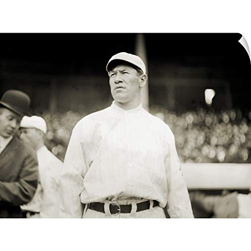 (CANVAS ON DEMAND Jim Thorpe Playing Baseball for The New York Giants at The Polo Grounds, 1913
