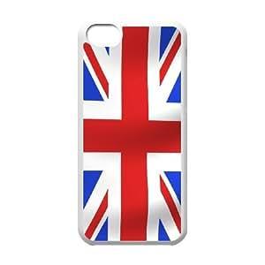 iPhone 5C Phone Case White Union Jack Flag ES3TY7842935