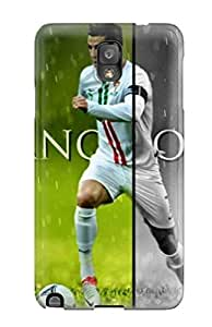 Awesome YcMgMJU8074phgdr ZippyDoritEduard Defender Tpu Hard Case Cover For Galaxy Note 3- Soccer Cristiano Ronaldo