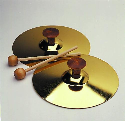 Music Treasures 7'' Cymbals w/Mallets