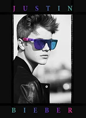 "LPG International Justin Bieber ""Glasses"" Fabric Poster Print, 30 by 40-Inch"
