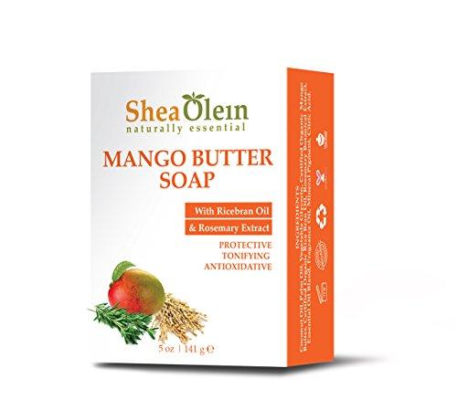 Mango Butter Soap With Rice Bran Oil & Black Pepper