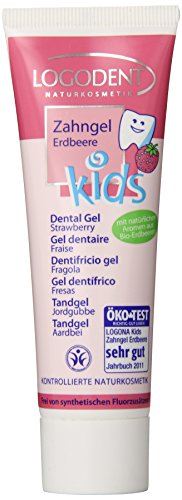 Echinacea Herbal Toothpaste (Lagona Kids Dental Gel, Strawberry, 1.69 Ounce)