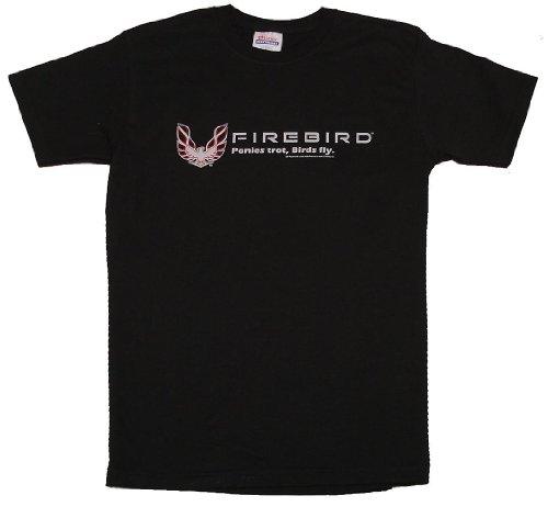 Firebird Tee Shirt With Trans Am Logo (Large) (Pony Interior Mustang)