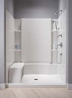 Sterling Plumbing 72260100-0 Accord Shower Kit, 48-Inch x 36-Inch ...