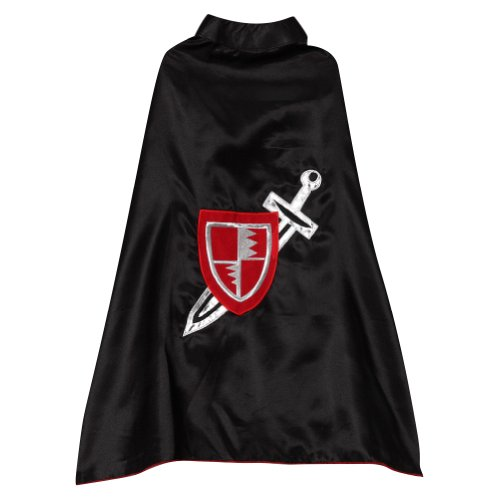 Medieval Child Knight Dragon Costumes (Black Knight Sword Shield 24