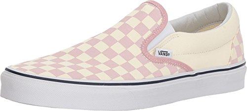 Vans Mens U Clasic Slip ON Checkerboard Zephyr Pink Size 7