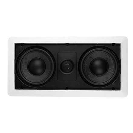 "Saga Elite LCR Dual 5-1/4"" In-Wall Center Channel Speaker w/Black Kevlar Woven Cones (Each) by SAGA"
