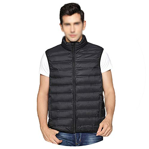 KEBINAI 2018 New Ultra Light Down Vest Men Spring Autumn Win